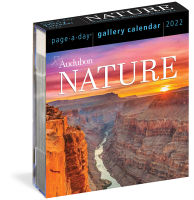 Audubon Nature Page-A-Day Gallery Calendar 2022: A wilderness escape every single day Cover Image
