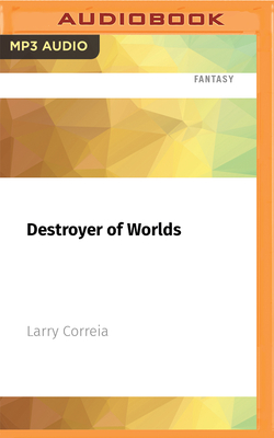 Cover for Destroyer of Worlds (Saga of the Forgotten Warrior #3)