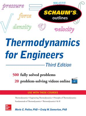 Schaums Outline of Thermodynamics for Engineers, 3rd Edition (Schaum's Outlines) Cover Image