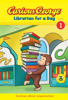 Curious George Librarian for a Day (CGTV Early Reader) Cover Image