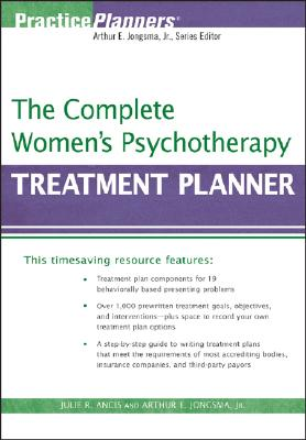 The Complete Women's Psychotherapy Treatment Planner (PracticePlanners #228) Cover Image