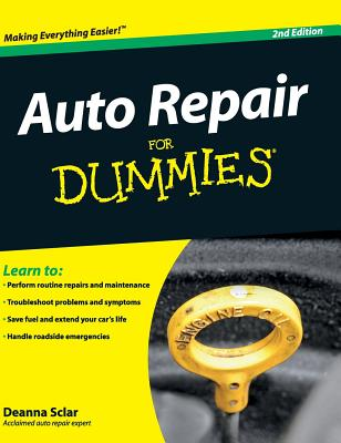 Auto Repair for Dummies Cover Image