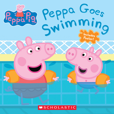 Peppa Goes Swimming (Peppa Pig) Cover Image