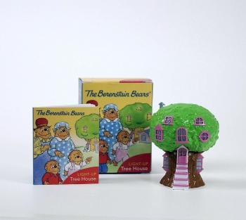 berenstain bears light up tree house miniature editions