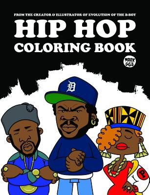 Hip Hop Coloring Book Cover Image