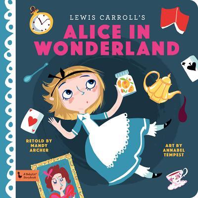 Alice in Wonderland (BabyLit Books) Cover Image