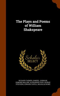 Cover for The Plays and Poems of William Shakspeare