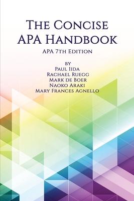 The Concise APA Handbook APA 7th Edition Cover Image