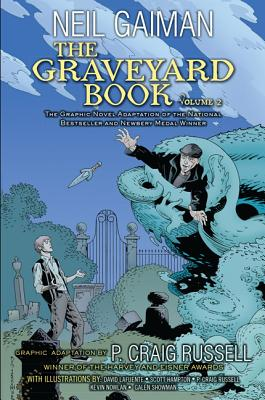 The Graveyard Book, Volume 2 Cover