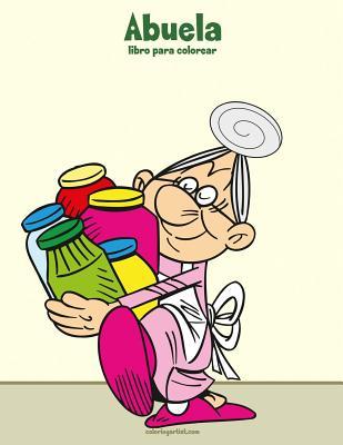 Abuela libro para colorear 1 Cover Image