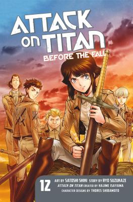 Attack on Titan: Before the Fall 12 cover image