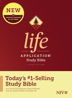 NIV Life Application Study Bible, Third Edition (Hardcover) Cover Image