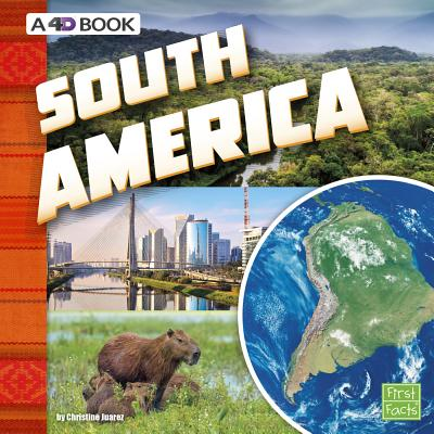 South America: A 4D Book Cover Image