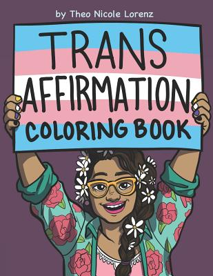 Trans Affirmation Coloring Book Cover Image