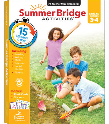 Summer Bridge Activities(r), Grades 3 - 4 Cover Image