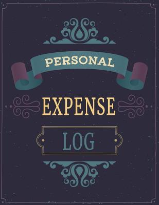 Personal Expense Log: Spending Log Book Cover Image