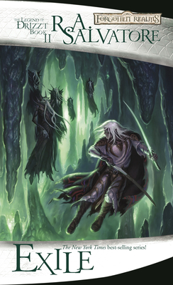Exile (The Legend of Drizzt #2) Cover Image