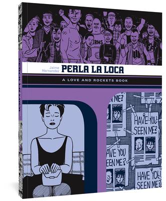 Perla La Loca: A Love and Rockets Book Cover Image