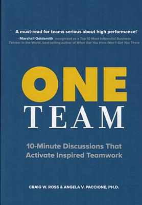 One Team: 10-Minute Discussions That Activate Inspired Teamwork Cover Image