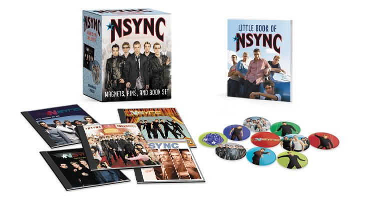 *NSYNC: Magnets, Pins, and Book Set (RP Minis) Cover Image