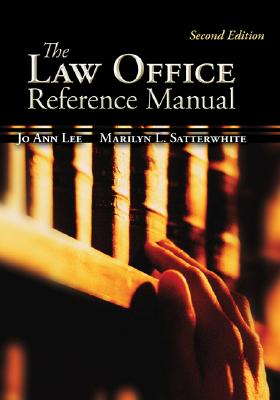 The Law Office Reference Manual (McGraw-Hill Business Careers Paralegal Titles) Cover Image