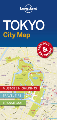 Lonely Planet Tokyo City Map Cover Image