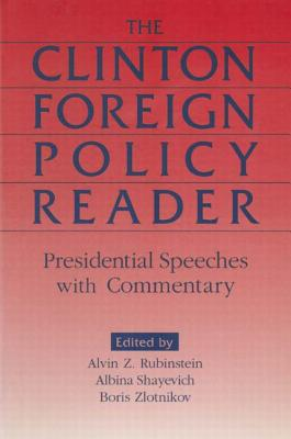 Cover for Clinton Foreign Policy Reader