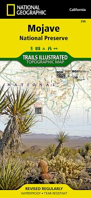 Mojave National Preserve (National Geographic Trails Illustrated Map #256) Cover Image