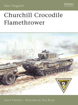 Churchill Crocodile Flamethrower Cover