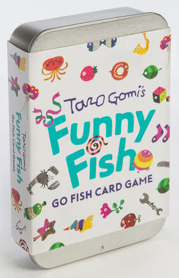 Taro Gomi's Funny Fish: Go Fish Card Game: (Stocking Stuffer, Kid's Gift, Birthday Gift, Art Cards) Cover Image