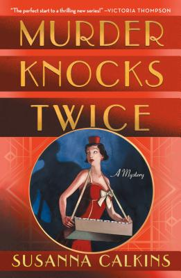 Cover for Murder Knocks Twice