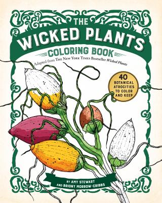 Cover for The Wicked Plants Coloring Book