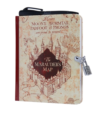 Harry Potter: Marauder's Map Invisible Ink Lock & Key Diary  Cover Image