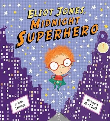Eliot Jones, Midnight Superhero Cover