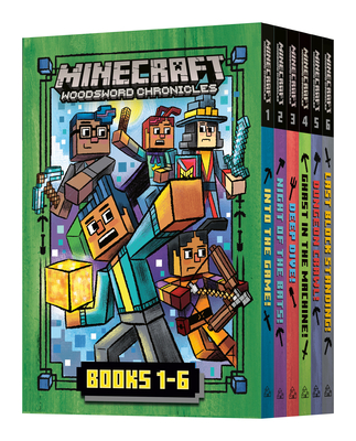 Minecraft Woodsword Chronicles: The Complete Series: Books 1-6 (Minecraft  Woosdword Chronicles) (A Stepping Stone Book(TM)) Cover Image