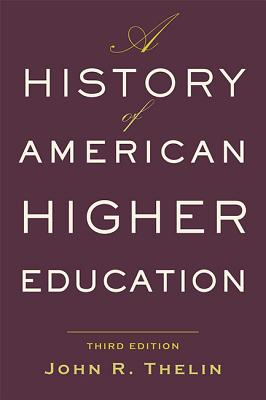 A History of American Higher Education Cover Image