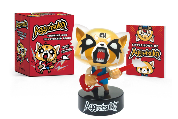 Aggretsuko Figurine and Illustrated Book: With Sound! (RP Minis) Cover Image