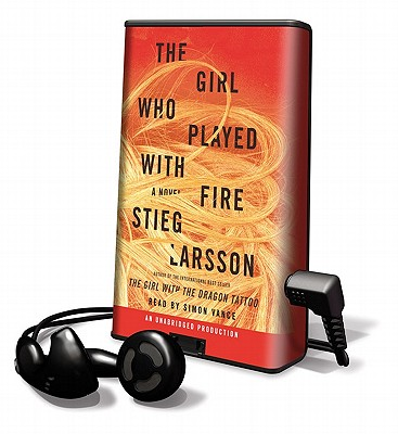 The girl who played with fire playaway adult fiction for Girl with dragon tattoo books in order