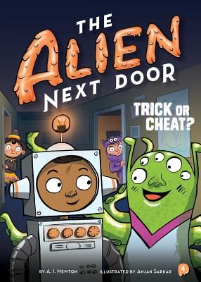 The Alien Next Door 4: Trick or Cheat? Cover Image