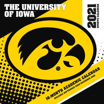 Iowa Hawkeyes 2021 12x12 Team Wall Calendar Cover Image