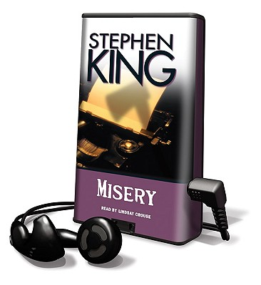 Misery [With Earbuds] (Playaway Adult Fiction) Cover Image