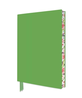 Spring Green Artisan Notebook (Flame Tree Journals) (Artisan Notebooks) Cover Image