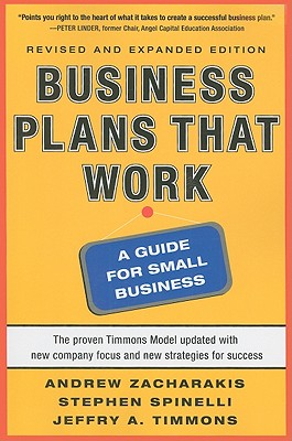 Business Plans That Work: A Guide for Small Business Cover Image