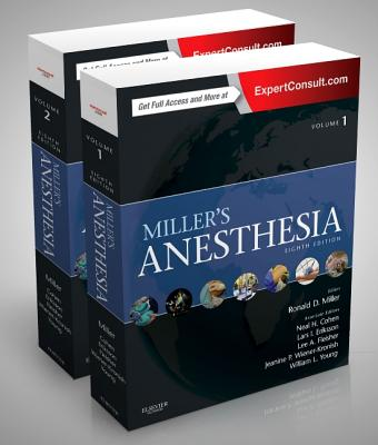 Miller's Anesthesia, 2-Volume Set Cover Image