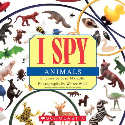 I Spy Animals Cover Image