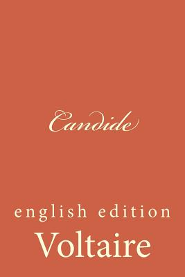 Candide: English Edition Cover Image