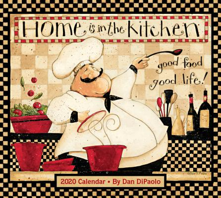 Home Is In the Kitchen 2020 Deluxe Wall Calendar Cover Image