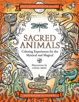 Sacred Animals (Coloring Books for the Soul) Cover Image