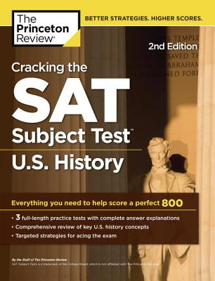 Cracking the SAT U.S. History Subject Test, 2nd Edition cover image
