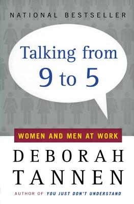 Talking from 9 to 5: Women and Men at Work Cover Image
